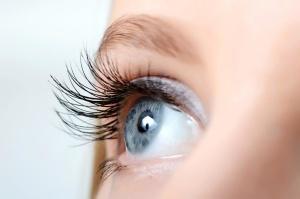 С помощью глаз человек воспринимает окружающий мир