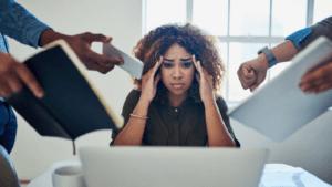Нахождение в постоянном стрессе