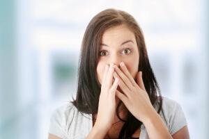Периодическая отрыжка имеет физиологические причины
