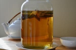 Чайный гриб можно использовать для похудения