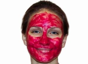 Свекольная маска