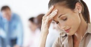 Один из симптомов головные боли