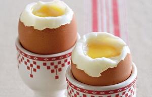 Польза яиц всмятку