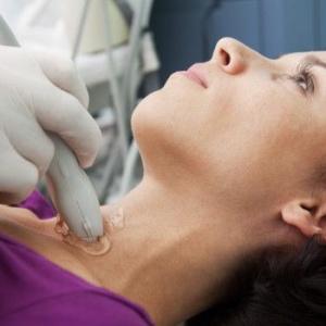 Как проводится УЗИ щитовидной железы