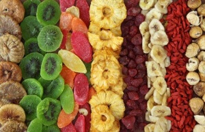 Сушеные фрукты и овощи - натуральные биодобавки