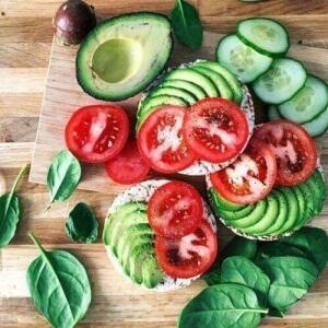 Овощи - основа рациона