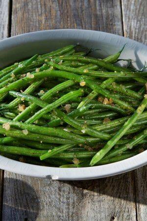 Калорийность стручковой фасоли и блюд из нее