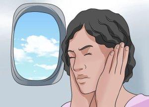 Что делать при заложенности в самолете