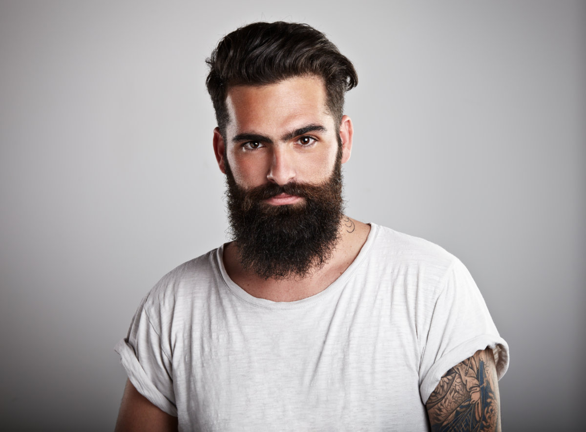 Types of beards for young men
