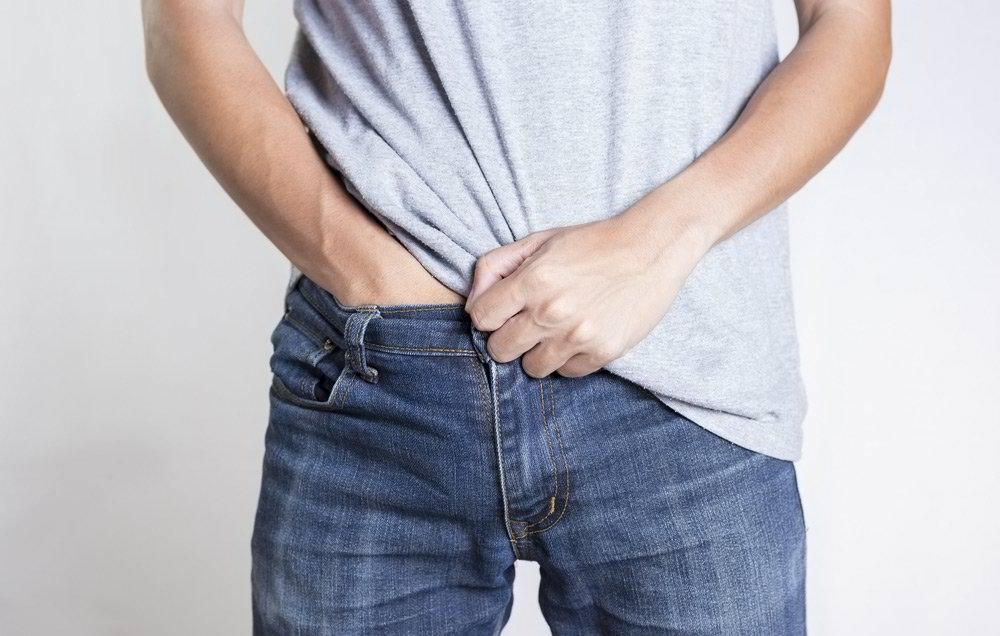 зуд при аллергии в паху у мужчин