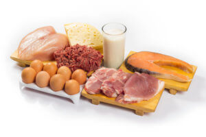 Больше белковых продуктов