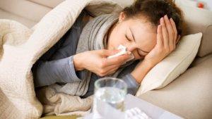 Заражение гриппом