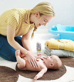 Закаливание малыша