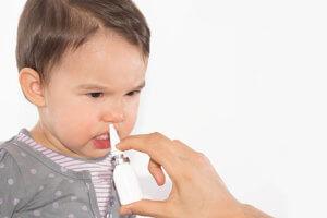 Закапывание носа