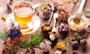 Травы с медом