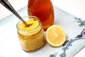 Медовая маска с лимоном