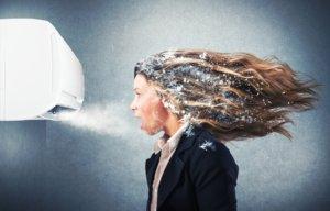 Негативное воздействие холодного воздуха