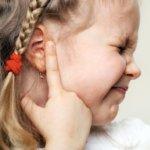 Сильная боль в ушах