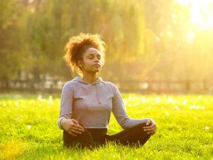 Дыхательные упражнения на природе