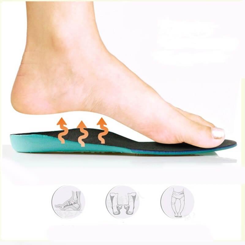 Выбор вкладышей для обуви