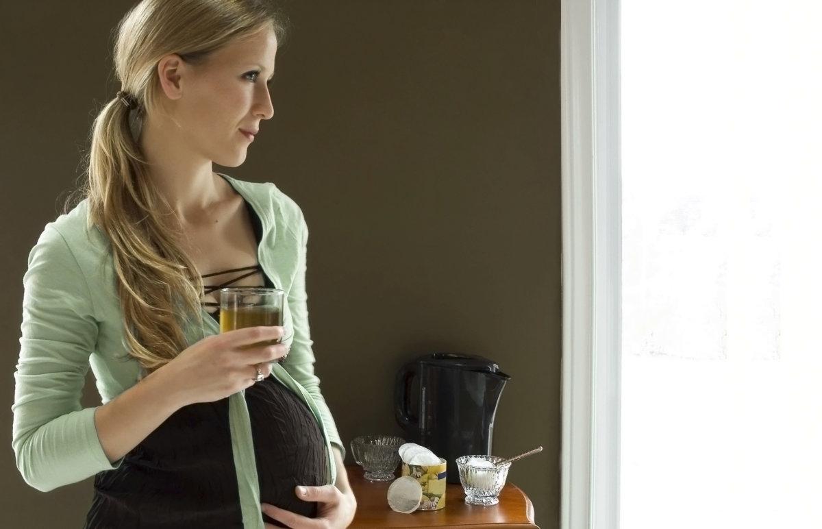 Зеленый чай для беременных