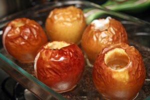 Полезный яблочный десерт