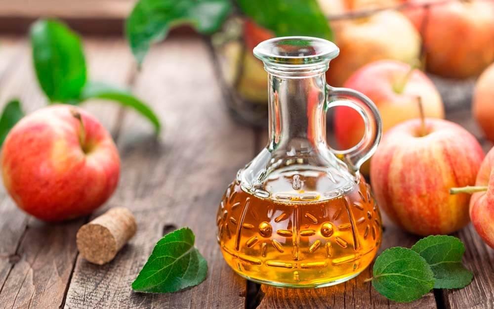 Рекомендован яблочный уксус