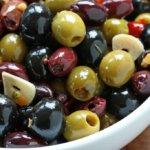 Все виды оливок