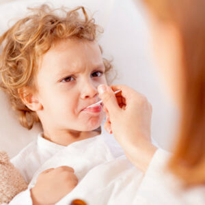 Детский сироп от температуры