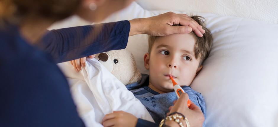 Высокая температура малыша