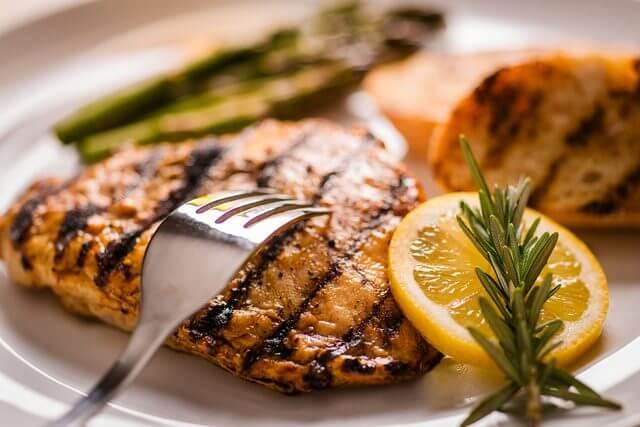 Употребление диетических блюд