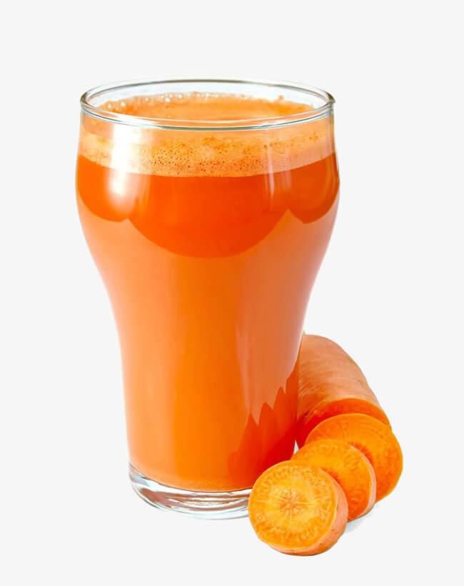 Изменения цвета из-за потребления оранжевых продуктов