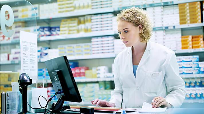 Приобретение в аптеках города