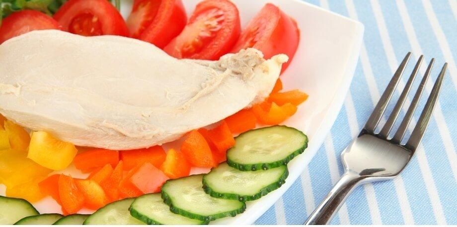 Диета Кима Протасова заключается в потреблении только свежих овощей