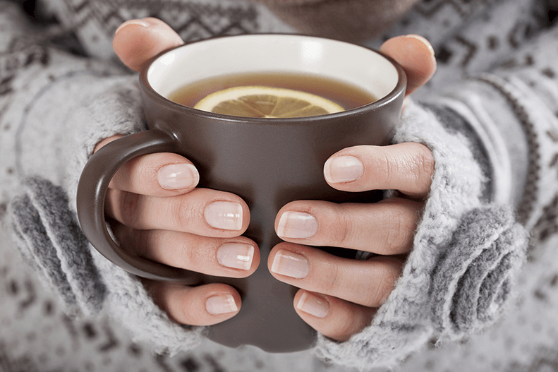 Частое теплое питье