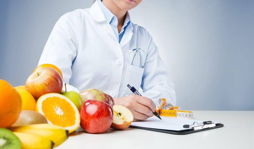 Расписанная диета от специалиста
