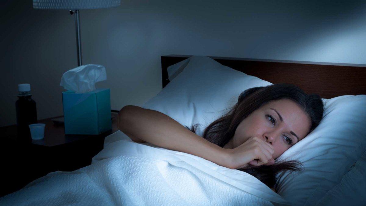 Внезапный кашель в ночное время суток