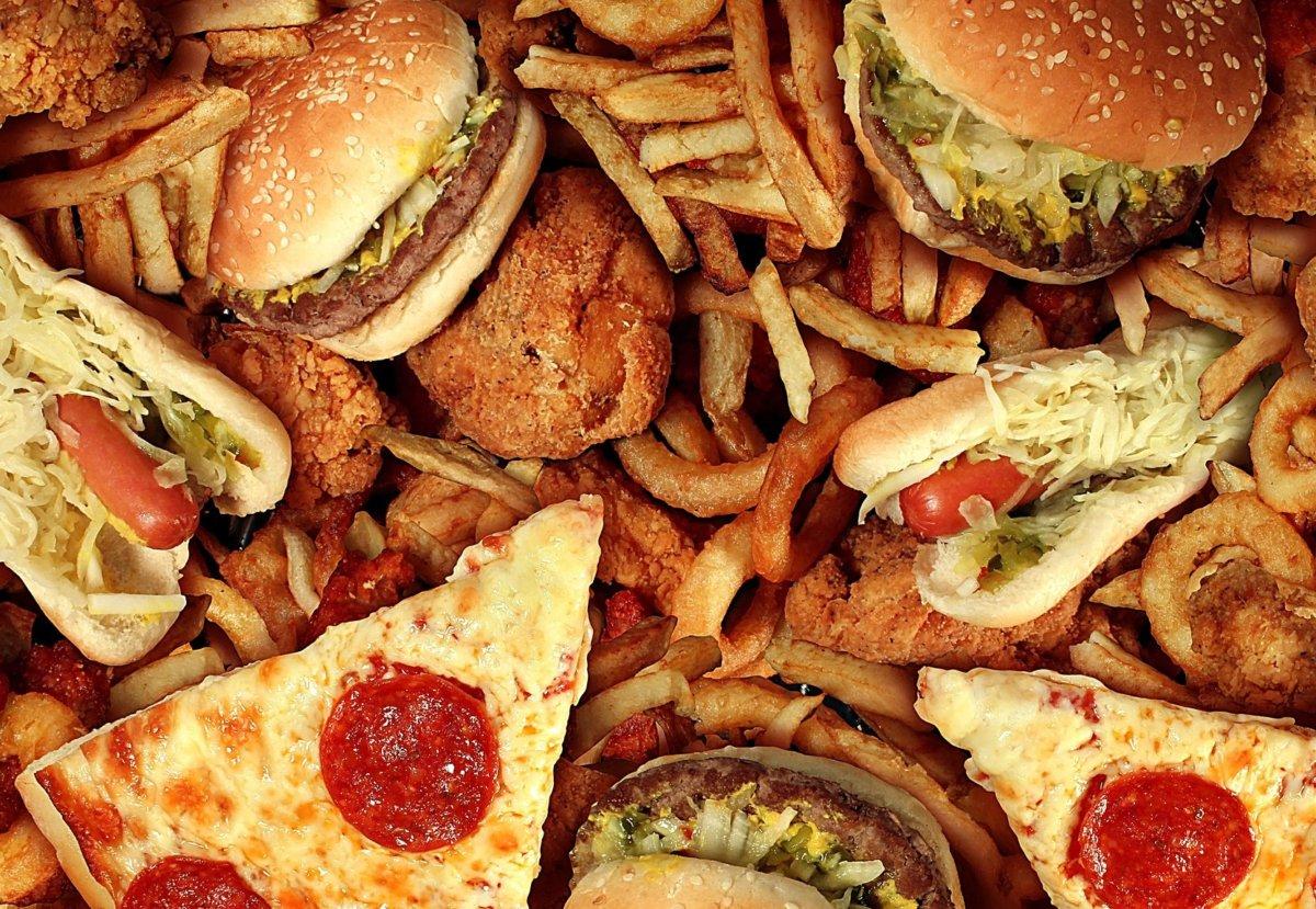 Жирные и вредные продукты