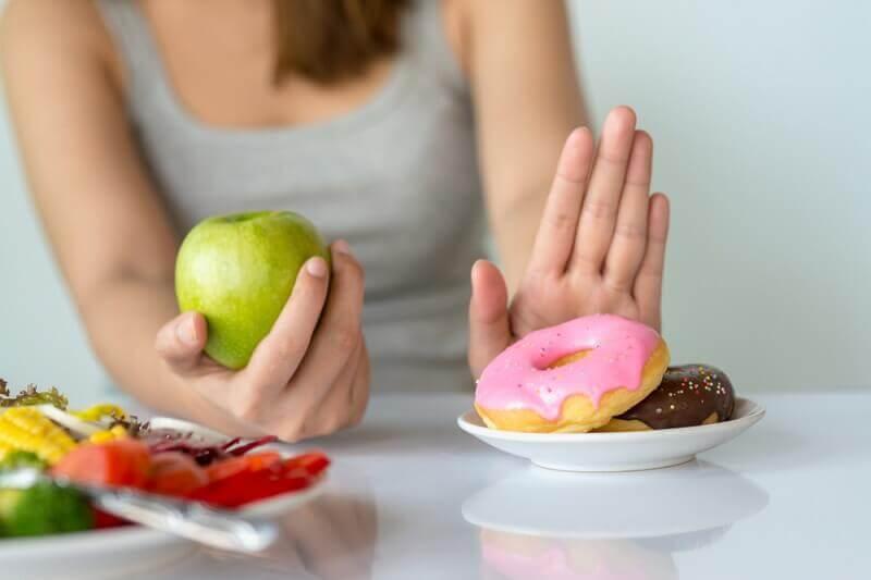 Отказ от жирных продуктов