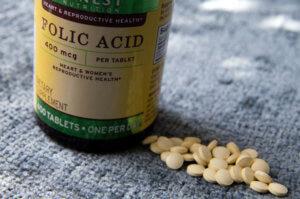 Использование препарата фолиевой кислоты