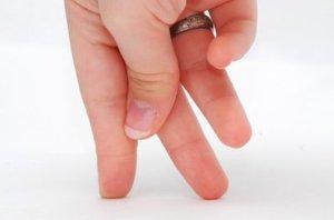 Разрабатываем указательный палец