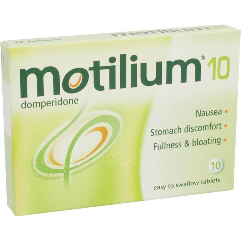 Точечное применение Мотилиум