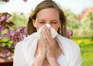 Аллергией страдают многие люди