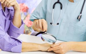 Кожные болезни могут возникать из-за внешних факторов