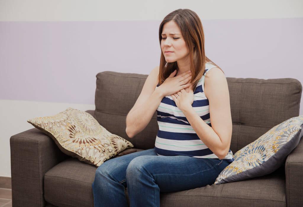 Нормальна ли отрыжка при беременности
