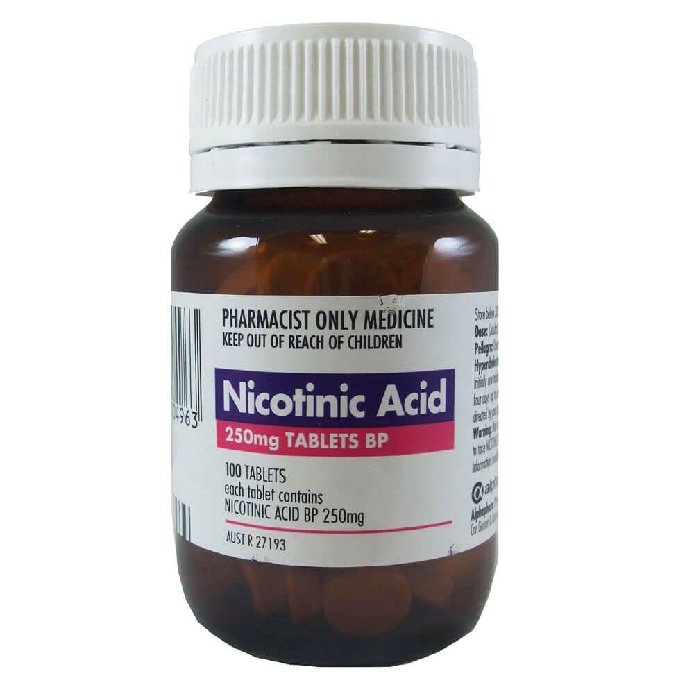 Никотиновая кислота для снижения