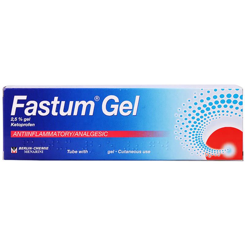 Использование Фастум геля