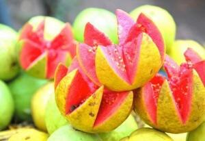 Гуава - второй по содержанию витамина С