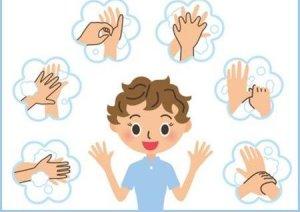 Мытье рук обязательно!