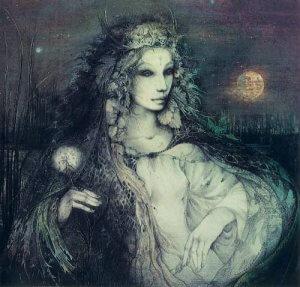 Богиня Селена
